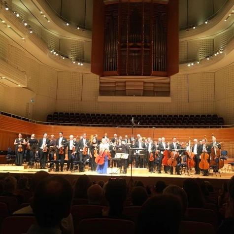 A.Honegger Cellokonzert mit dem Luzerner Sinfonieorchester im KKL Luzern